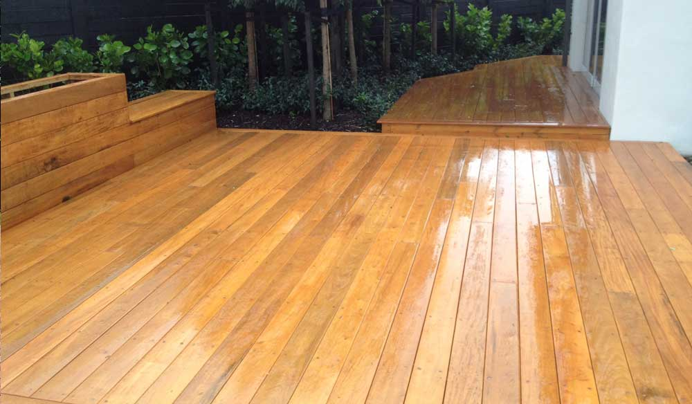 Decks built by RD Construction